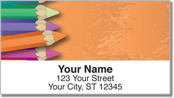 Color Me Address Labels