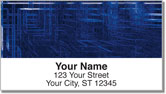 Techno Matrix Address Labels