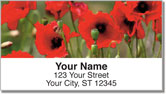 Poppy Address Labels