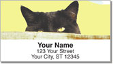 Sleepy Cat Address Labels