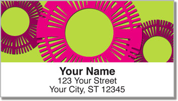 Cut Circle Address Labels