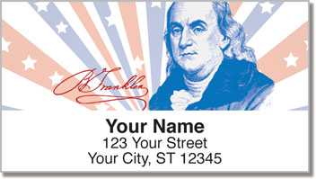 Founding Father Address Labels