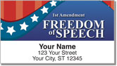 Bill of Rights Address Labels