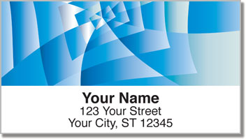 Crazy Pattern Address Labels