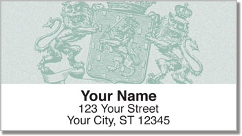 Coat of Arms Address Labels