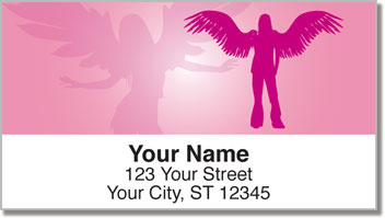 Sexy Angel Address Labels