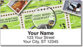 Duck Stamp Address Labels