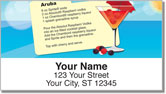 Summer Cocktail Address Labels