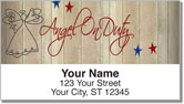 Country Angel Address Labels