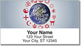 World Religion Address Labels
