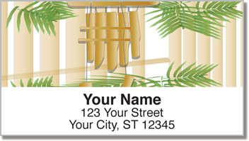 Wind Chime Address Labels