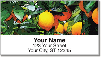 Fruit Tree Address Labels