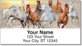 Country Horse Address Labels