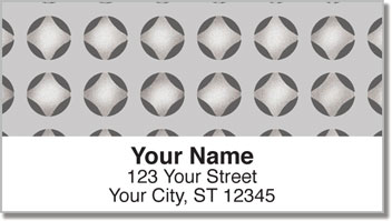 Metal Panel Address Labels