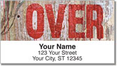 Over & Under Address Labels