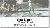 Moon Landing Address Labels