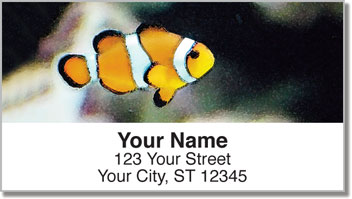 Underwater World Address Labels