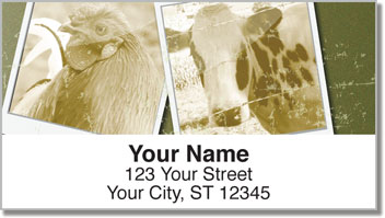 Farm Life Address Labels