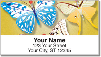 Butterfly Collection Address Labels