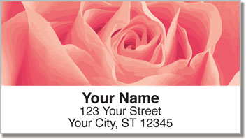 Rosebud Address Labels