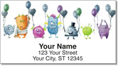 Silly Monster Address Labels