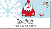 Christmas Doodle Address Labels