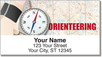 Orienteering Address Labels