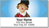 Hobo Clown Address Labels