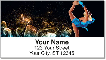 Figure Skater Address Labels