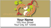 Koi Fish Address Labels