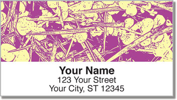 Eucalyptus Print Address Labels