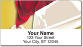 Christmas Close-Up Address Labels
