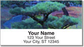 Midnight Garden Address Labels