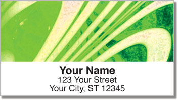 Hand Blown Glass Address Labels