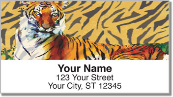 Tiger Address Labels