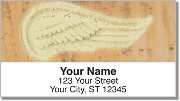 Heavenly Wings Address Labels