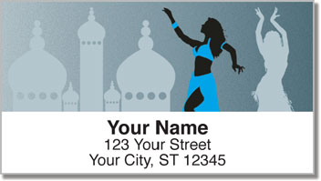 Belly Dancing Address Labels