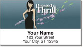Dressed to Thrill Address Labels