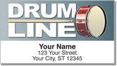 Percussion Address Labels