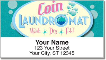 Laundromat Address Labels