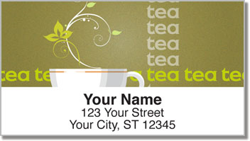 Tea Time Address Labels