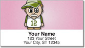 Cartoon Kid Address Labels