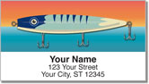 Fishing Lure Address Labels