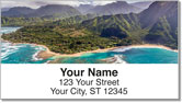 Hawaiian Landscape Address Labels