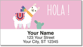 Llama & Alpaca Address Labels