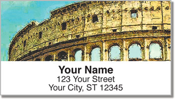Italia Address Labels