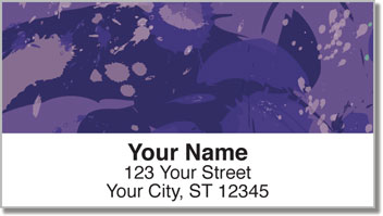 Splash of Color Address Labels