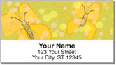 Butterfly Sketch Address Labels