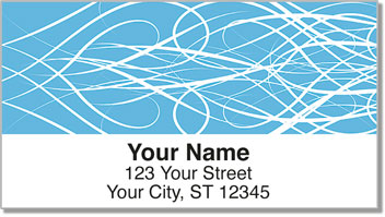 Wispy Address Labels