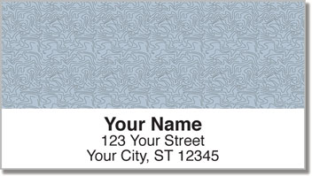 Topographic Address Labels